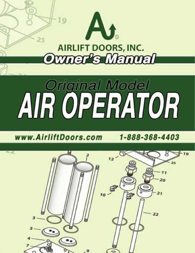 Standard Air Openers Manual