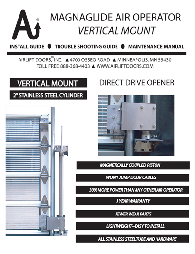 Vertical Magnaglide Install Guide